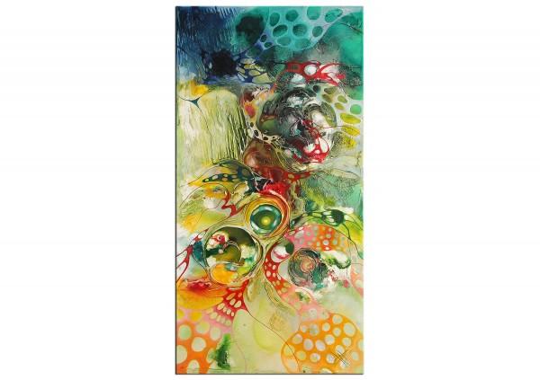 "Modernes Gemälde, B. Ossowski: ""Happiness Wonderland"""