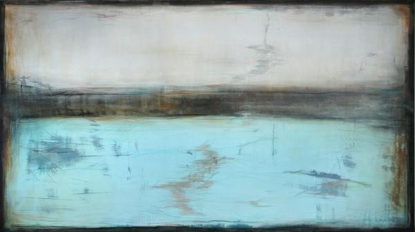 """A. Freymuth: """"Die Zeit steht still"""", Acrylmalerei abstrakt, Originalgemälde (Unikat) (A)"""