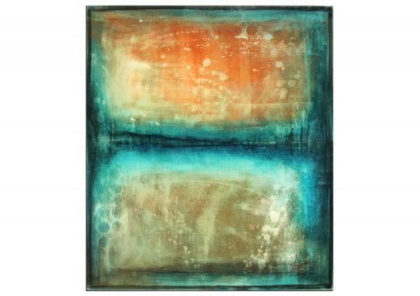 """Acrylbilder abstrakt, A. Freymuth: """"Gezeiten"""" (A)"""