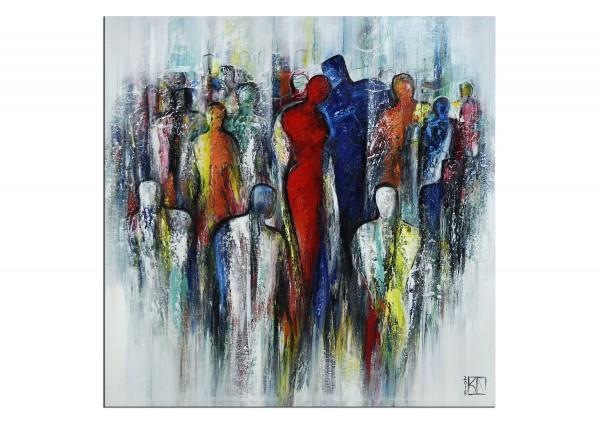 """Modernes Gemälde, K. Namazi: """"Dreamteam II"""" (ri)"""