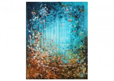 """Acrylbild von A. Freymuth: """"Elements"""""""