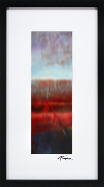 "J. Fernandez: ""Über den Dächern II"", Edition, signierter Kunstdruck"