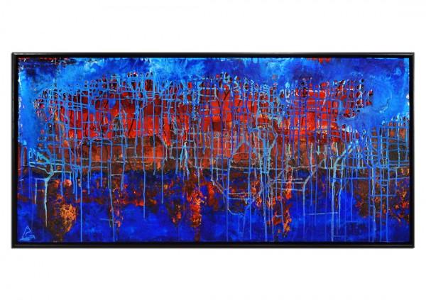 """Moderne Malerei, A.Garbe: """"FEUER & WASSER"""" (E)"""
