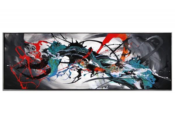"Acrylgemälde, G. Hung: ""Substantiell I"""
