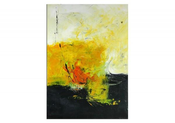 "Abstrakte Acrylmalerei, C. Middendorf: ""Sonnenwende III"" (A)"