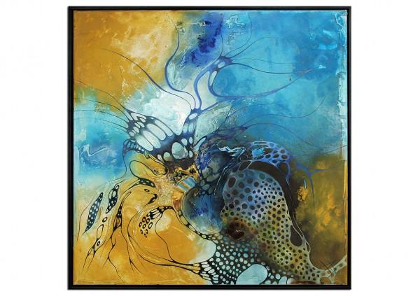 "Ölgemälde abstrakt, B. Ossowski: ""MALEDIVEN DREAMS"""