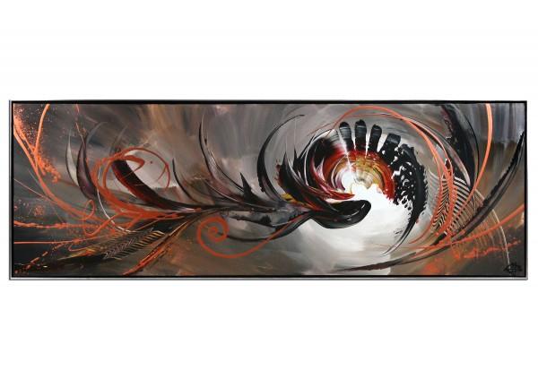 "Acrylgemälde, G. Hung: ""Intruder III"""
