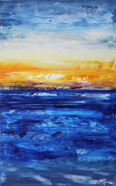 "J. Fernandez: ""Cable Beach III"", Originalgemälde (Unikat), Acrylbilder"