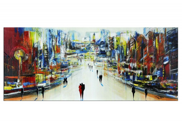 "Modernes Gemälde, K. Namazi: ""Auflösung I"" (A)"