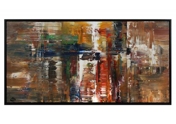 "Acrylgemälde, G. Hung: ""Terra X"" (ri)"