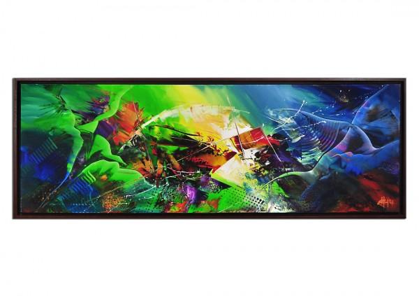 "Acrylgemälde, G. Hung: ""UNIVERSALES DRAMA III"" (ri)"