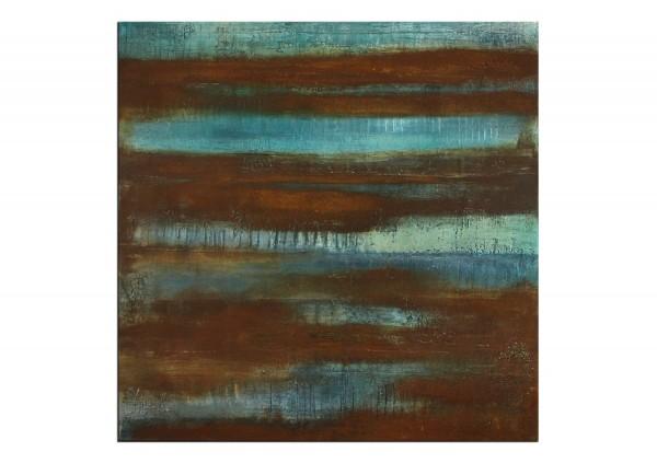 "Acrylmalerei abstrakt, A. Freymuth: ""Oxidation"""