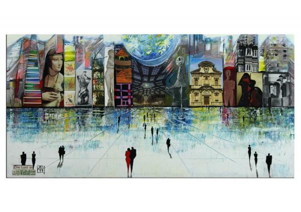 """Modernes Gemälde, K. Namazi: """"Die Lust auf Vielfalt"""" (ri)"""