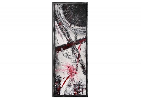 """Acrylgemälde, T. Peter: """"Black Moon II"""""""