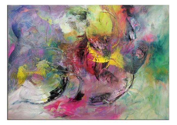 "Abstrakte Acrylmalerei, C. Middendorf: ""PLENTY OF LOVE V"""