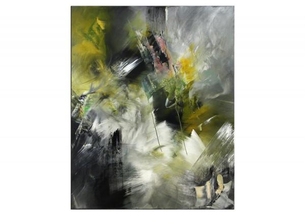 "Abstrakte Acrylmalerei, C. Middendorf: ""Gefundenes Paradies III"""