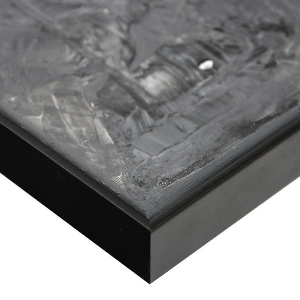 Premium Schattenfugenrahmen schwarz SR-36612-s, Bilderrahmen Holz, modern