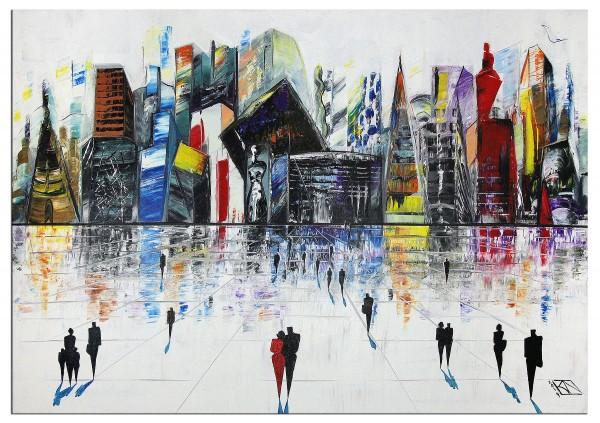 "Abstrakte Kunstbilder, K. Namazi: ""Art City II"" (A)(ri)"