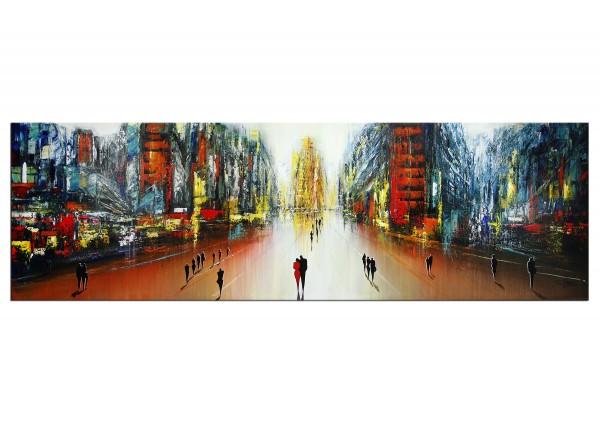 "Modernes Gemälde, K. Namazi: ""Zentrale Zweisamkeit I"""