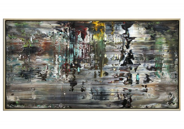 """Acrylgemälde, G. Hung: """"Überlagerung II"""""""