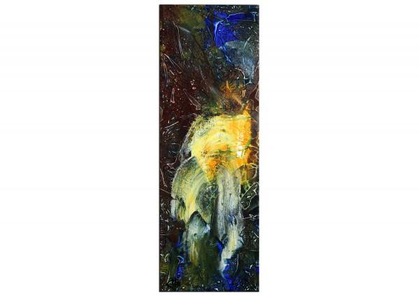 "Acrylgemälde, G. Hung: ""Lichtpagode"""