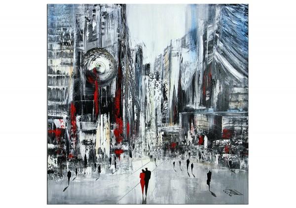 "RESERVIERT Modernes Gemälde, K. Namazi: ""Stolze Metropole I"" (ri,A)"
