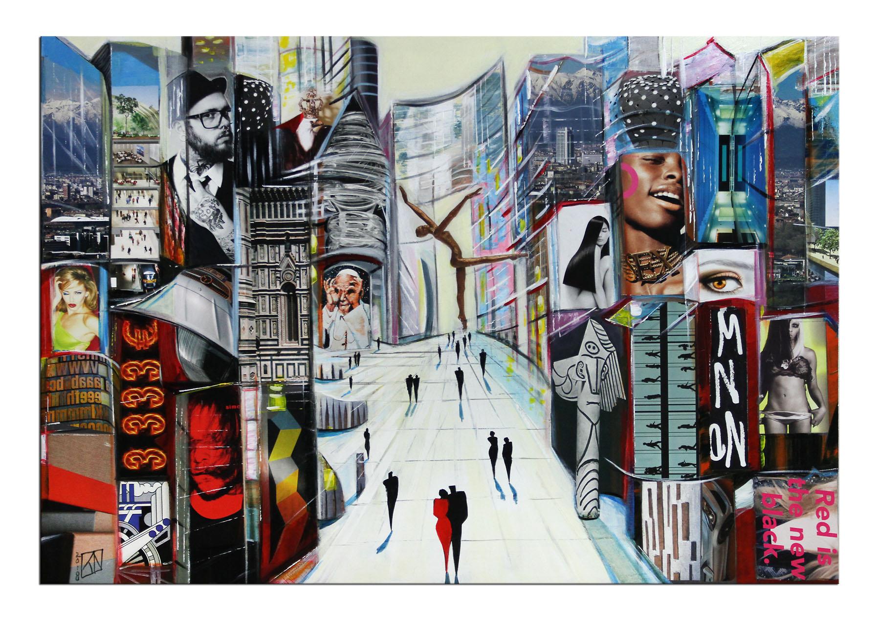 Modernes Gemälde, K. Namazi: \