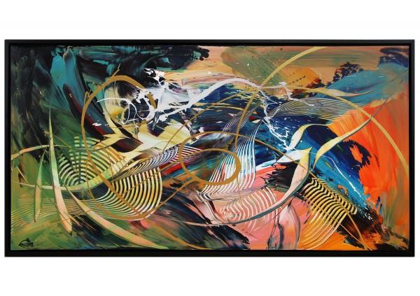 "Acrylgemälde, G. Hung: ""Farbexpression II"""