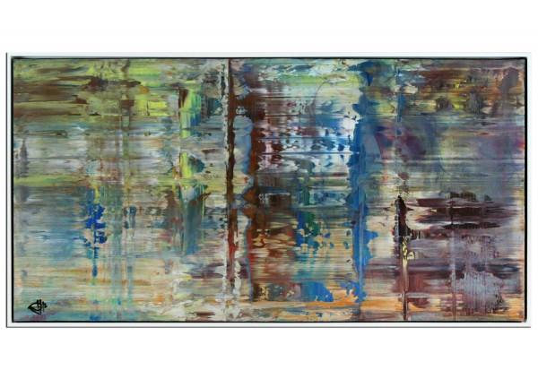 """Acrylgemälde, G. Hung: """"Überlagerung I"""""""