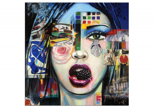 """Modernes Gemälde von K. Namazi: """"New Dawn, new Day"""" (A)"""
