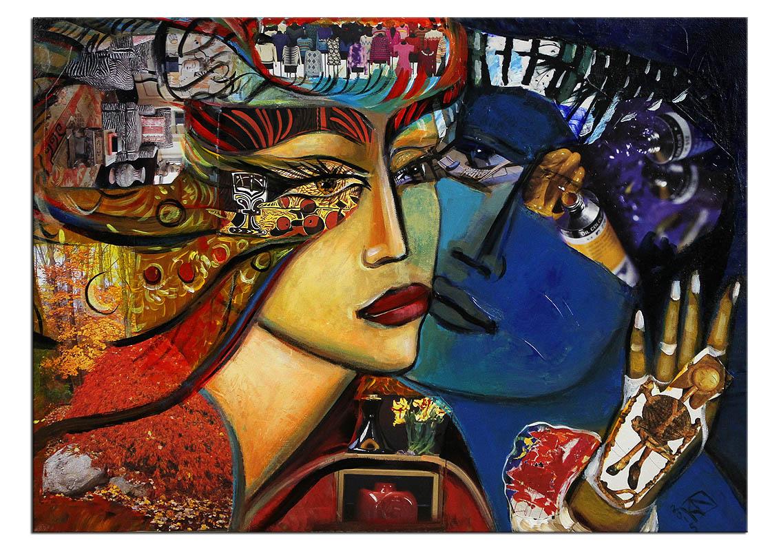 Moderne Malerei, K. Namazi: \