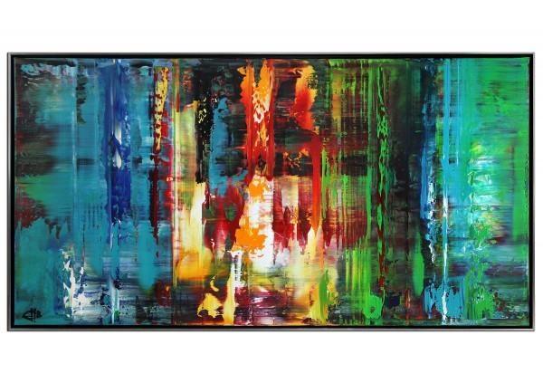 "Acrylgemälde, G. Hung: ""Window to the World I"" (ri)"