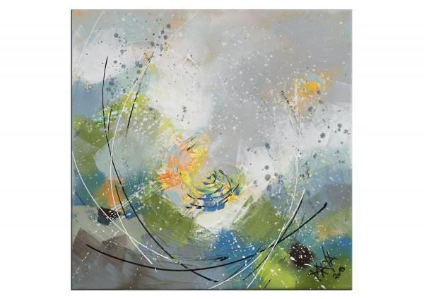 """Gemälde abstrakt, Maya: """"Erwachen"""""""