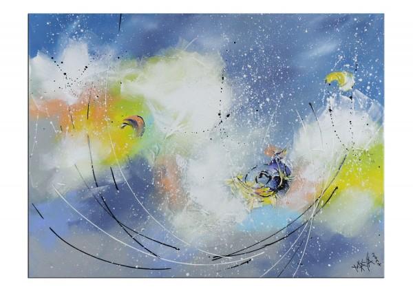 """Gemälde abstrakt, Maya: """"Sommerglück"""""""