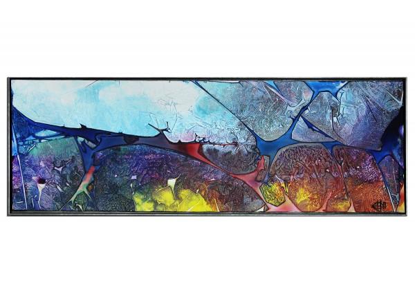 "Acrylgemälde, G. Hung: ""Hinterm Horizont I"" (ri)"