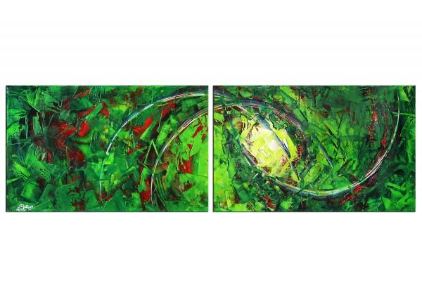 "Abstrakte Acrylbilder, R.König: ""Genesis III"""