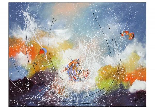 """Gemälde abstrakt, Maya: """"Herbstanfang"""""""