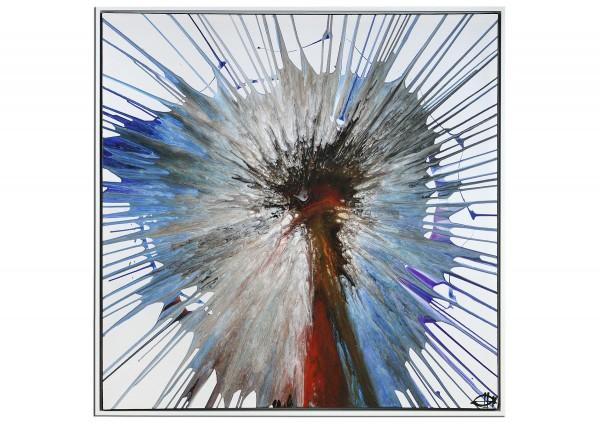 "Acrylgemälde, G. Hung: ""Pusteblume"""