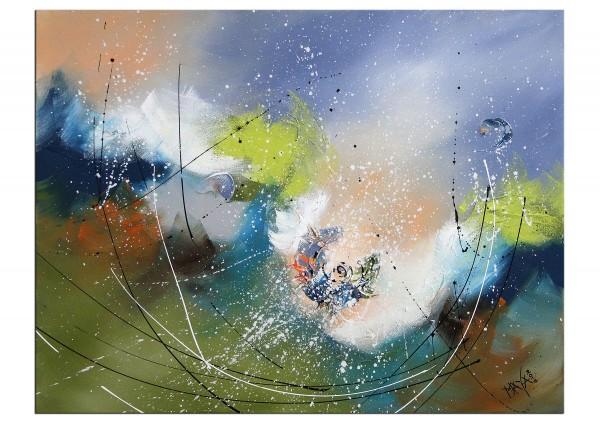 """Acrylbilder, Maya: """"Herbststurm"""""""