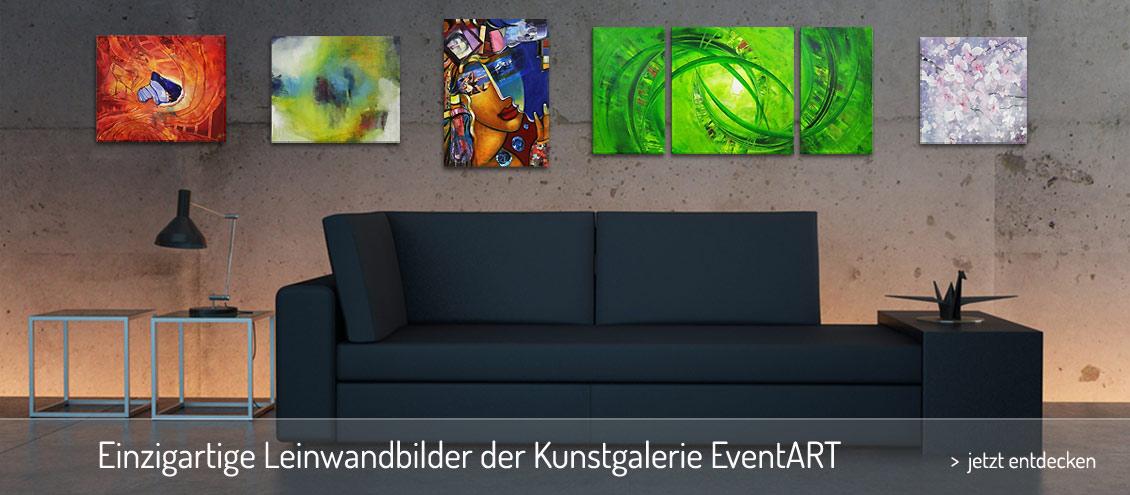 Kunstgalerie für Leinwandbilder | Kunstgalerie EventART - Die ...