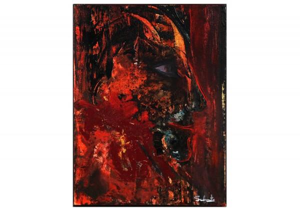 """Acrylgemälde, C. David Schwartz: """"EL DIABLITO"""""""