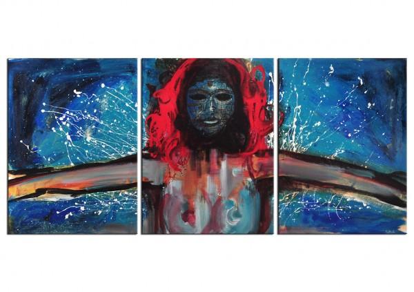 "Neoexpressionismus, C.D. Schwartz: ""LA REINA ROJA"""