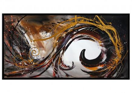 "Acrylgemälde, G. Hung: ""Frontaldynamik II"""
