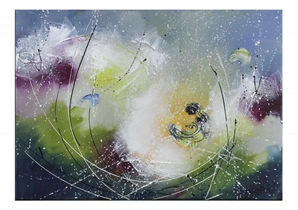 """Gemälde abstrakt, Maya: """"Geheimnisvolles Leuchten"""""""