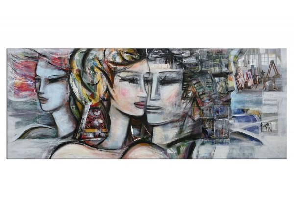 """Modernes Gemälde, K. Namazi: """"Die Nähe"""" (E)"""