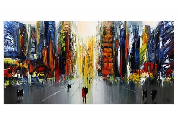 """Modernes Gemälde, K. Namazi: """"Unsere Zukunft III"""""""