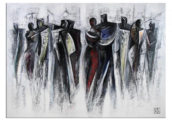 "Modernes Gemälde, K. Namazi: ""Tanzabend"""