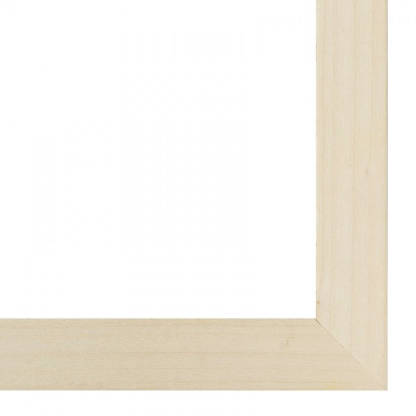 Premium Bilderrahmen Holz Ahorn HR-M2035B11-e, inkl. Blendrahmbleche
