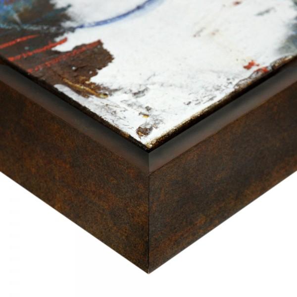 Premium XL Schattenfugenrahmen bronze, SR-63900-XL, Bilderrahmen Holz, modern