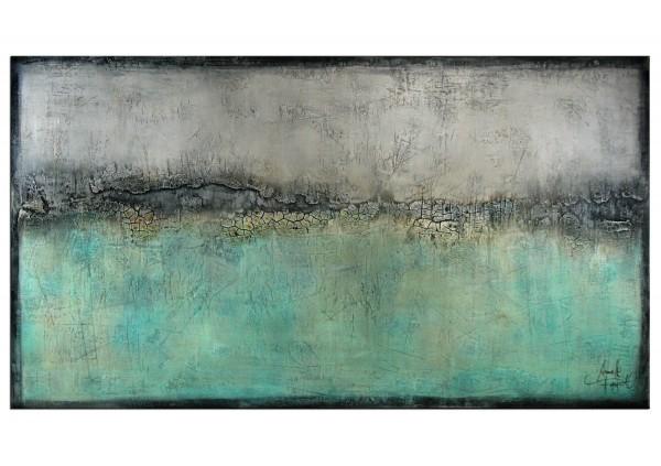 "Abstrakte Acrylmalerei, A. Freymuth: ""Grenzland"""